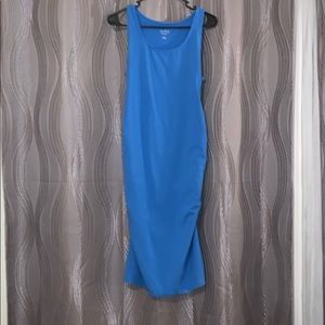 Tank top maternity body contouring dress